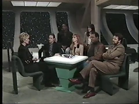 """Good Morning America"" visits ""Star Trek: The Next Generation"" (Feb. 13, 1992)"