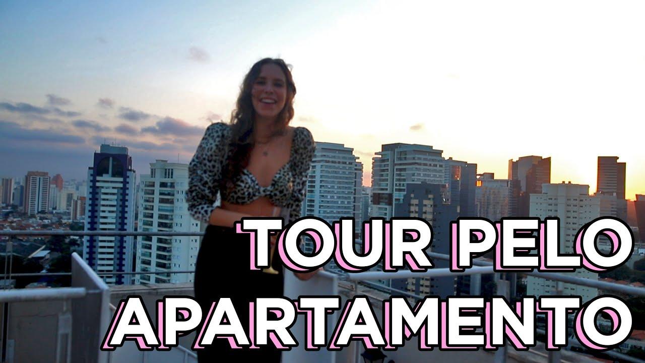 Tour pelo apartamento novo vazio!