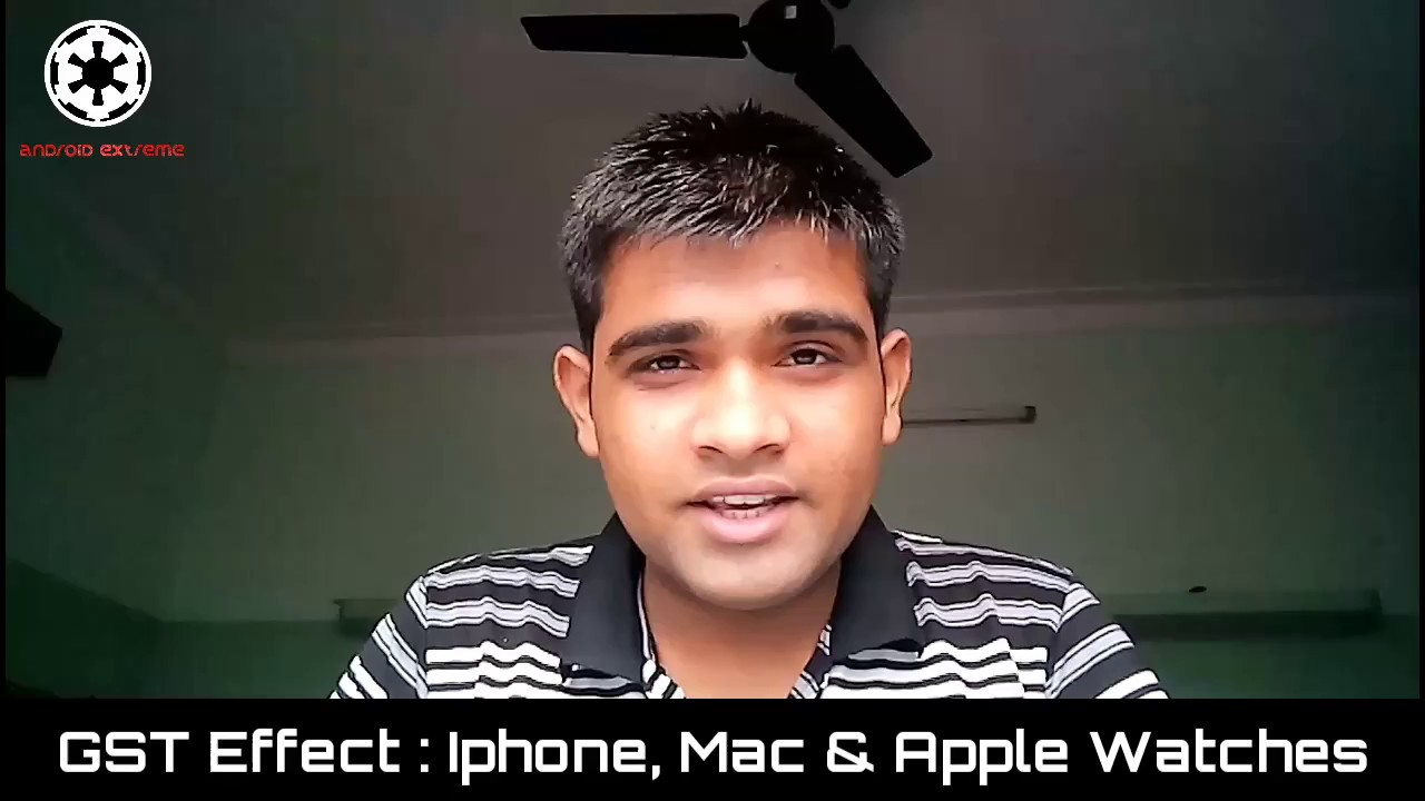 (Hindi) GST Effect On I Phone, Mac And Apple Watches Old And New Price Detailed