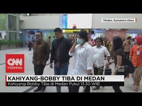Kahiyang Ayu - Bobby Tiba di Medan