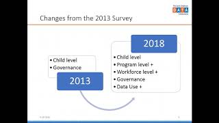 2018 Early Childhood Data Systems Survey Results thumbnail
