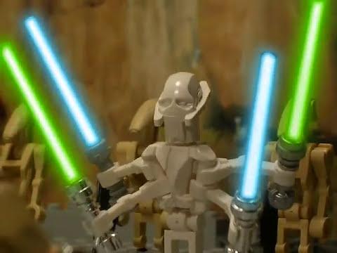 Lego star wars the battle of utapau youtube - Croiseur interstellaire star wars lego ...