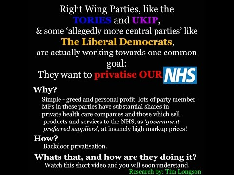 NHS the true story of privatisation and what we need to do to fix it