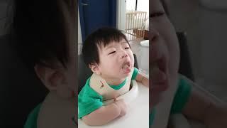 6개월아기 브로콜리 이유식 첫반응