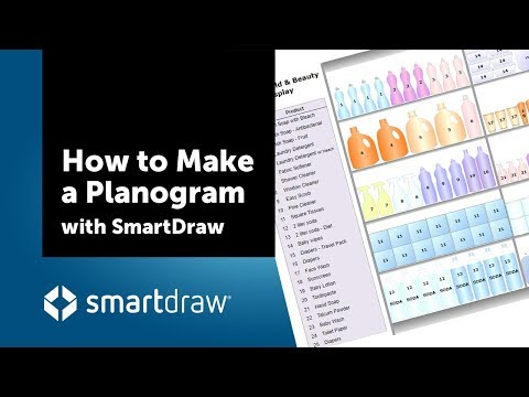 How To Make A Planogram In SmartDraw
