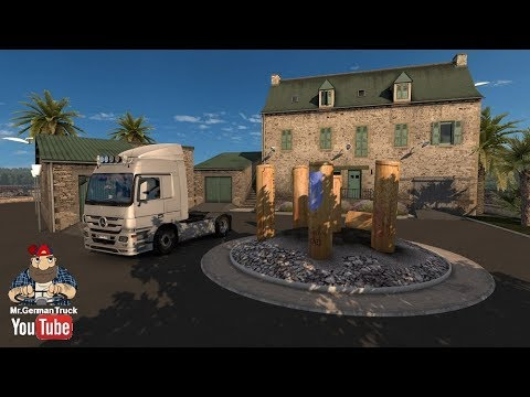 ets2 home sweet luxury home on nantes youtube. Black Bedroom Furniture Sets. Home Design Ideas