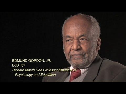 Professor Emeritus Edmund Gordon