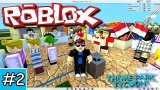 Hawker Venues-Theme Park Tycoon 2 Roblox Indonesia-Part 2