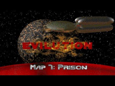 Final Doom - Tnt: Evilution Map 7: Prison (UV-100%) [Crispy Doom] |