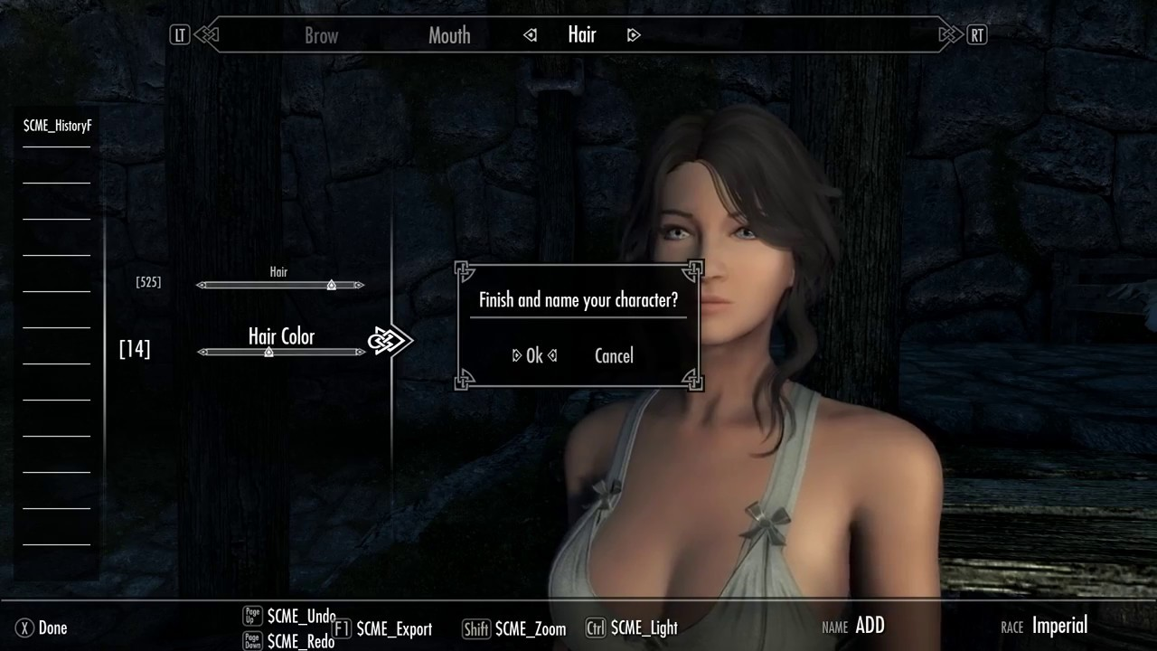 Skyrim SE Enhanced Character Edit
