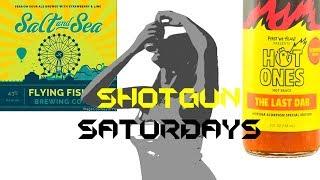 Shotgun Saturday - Salt & Sea (Plus 1.5 Million Scoville Hot Ones Last Dab Sauce)