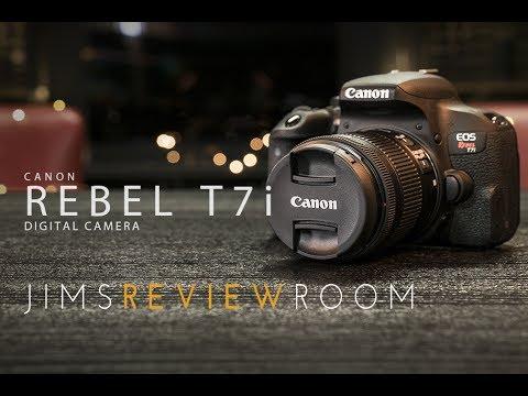 Canon T7i  800D Digital Camera - REVIEW