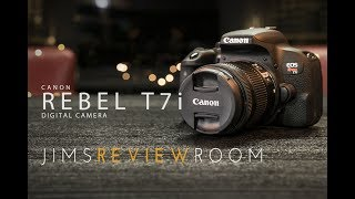 Canon T7i 800D Digital Camera - REVIEW