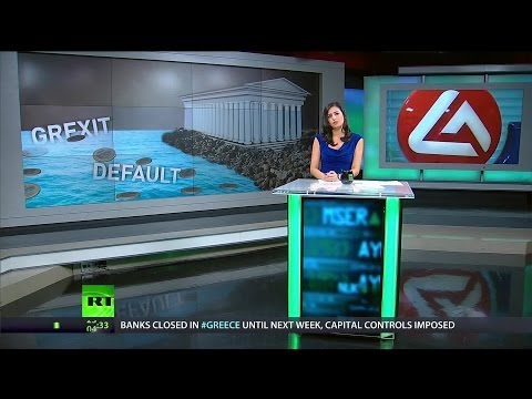 [384] Greek banks are bankrupt but who's to blame for crisis?
