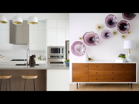 Interior Design – A Bright Mid-Century Modern Home