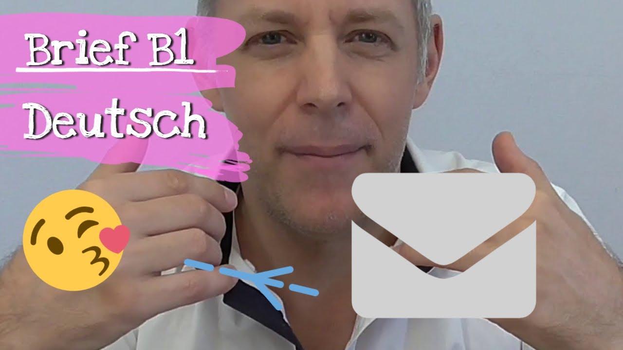 Brief B1 Deutsch Schreiben Private Und Formelle Briefe Tipps Für