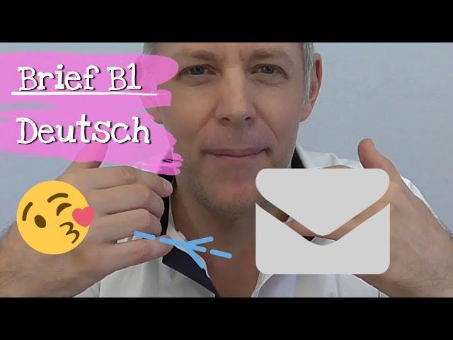 Deutsch Lernen Powered By German Deutschcom Brief B1 Deutsch