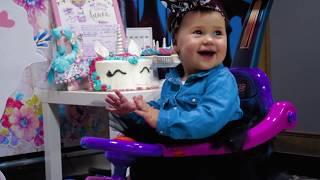 Алисе 1 год - фото и видео съемка детского дня рождения