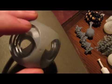 Form1 3d printed Gyro cube