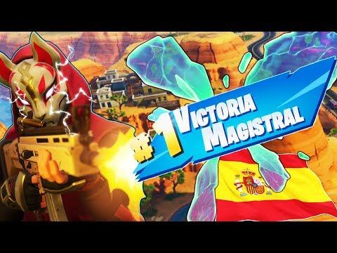 FORNTITE: OGGI PARLIAMO SPAGNOLO.. VICTORIA MAGISTRAL!!