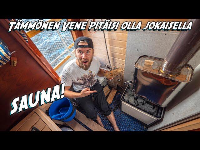 Meidän Veneessä On Sauna BMA
