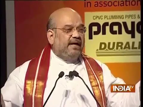 Shri Amit Shah at IndiaTV Samvaad on 2 Years of Modi Govt - 16 May 2016