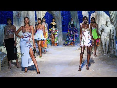Versace Spring Summer 2021   Fashion Show