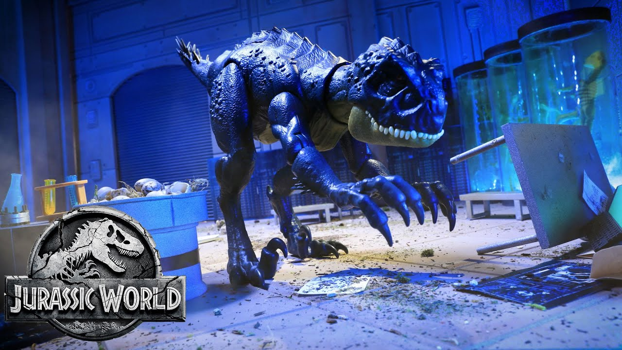 Camp Cretaceous Files: Scorpios Rex Rampage | Jurassic World | Mattel Action!