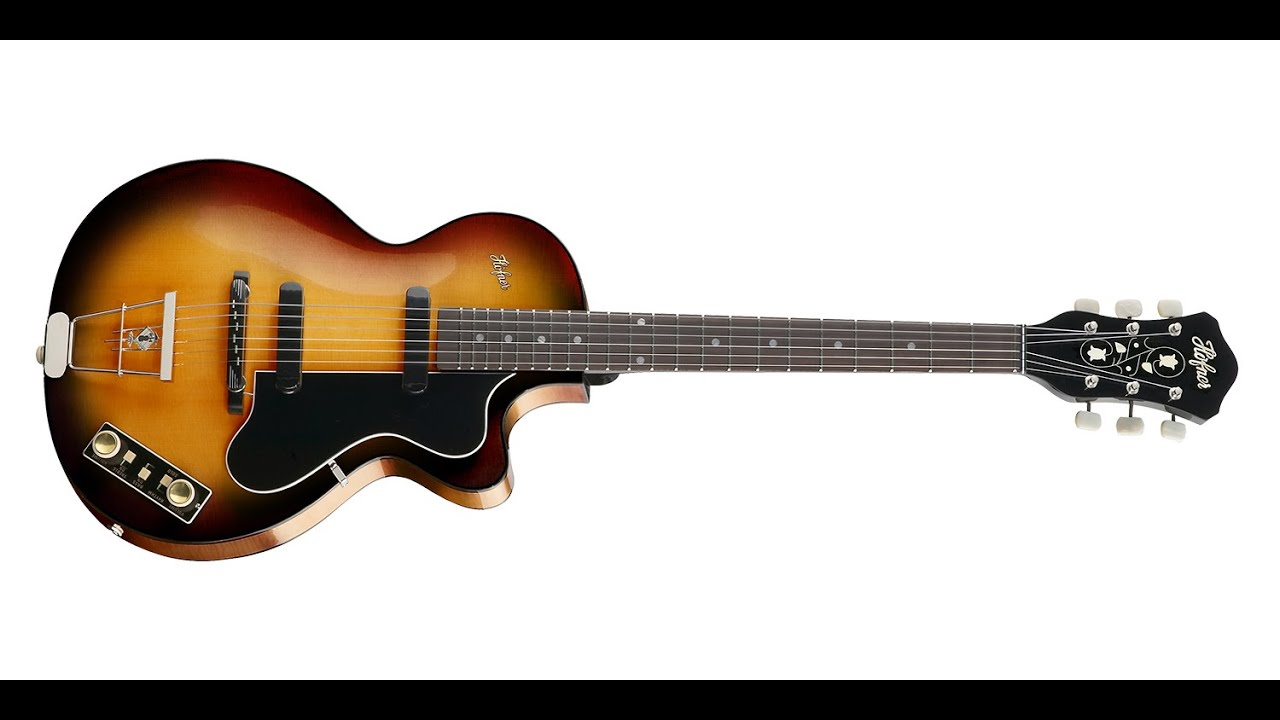 Super Höfner Club 50 Guitar - YouTube XP-98