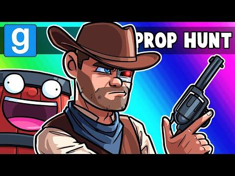 Gmod Prop Hunt NICE Moments – Nogla Loves his Girlfriend! (Garry's Mod)