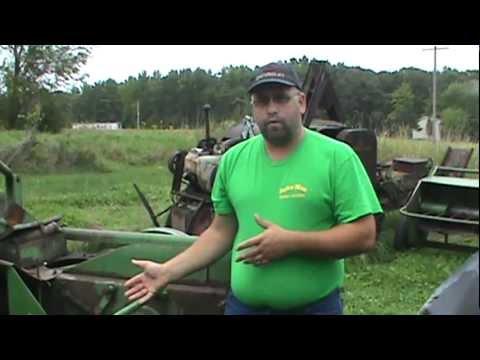 john deere 24t hay baler inspection video
