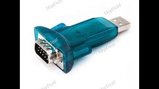 видео USB-COM (RS-232) переходник: делаем самостоятельно
