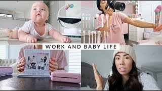 WORK LIFE AND TWIN FLIGHT NIGHTMARE✈️- SLMissGlamVlogs