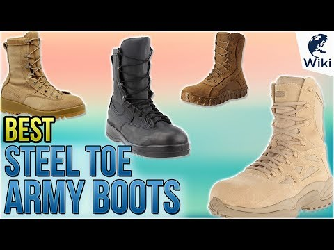 10 Best Steel Toe Army Boots 2018