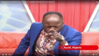 Apostle Suleman is UNSTOPPABLE in AUSTRALIA CRUSADE...MUST WATCH!!!