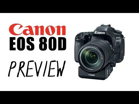Canon EOS 80D - Preview en Español
