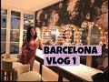 BARCELONA VLOG- HOTEL ROOM TOUR, POOL, DINNER