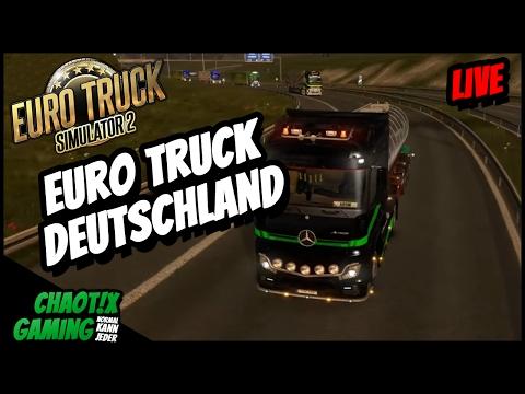 🚚 ETS2 ★ Auf großer Fahrt durch Deutschland ★ Livestream vom 12.02.2017