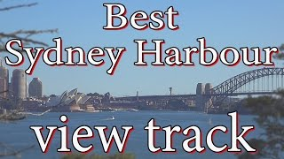 Best Sydney harbour view track
