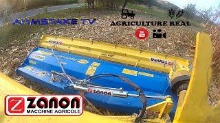 New Holland TD5.105 & Zanon TMC 2250   Trinciatura Stocchi 2016   Agriculture Real - SJ4000