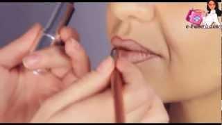 Уроки красоты. Коррекция губ- это просто!