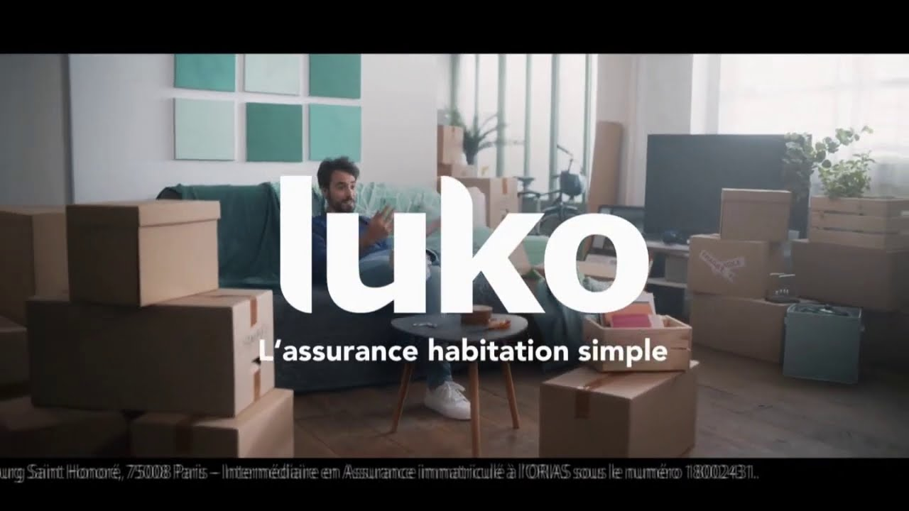 """Musique de la pub Luko """"'l'assurance habitation étonnamment simple""""  2021"""