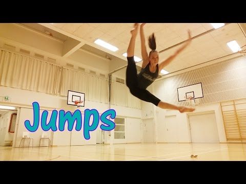 Dance Jumps And Tricks