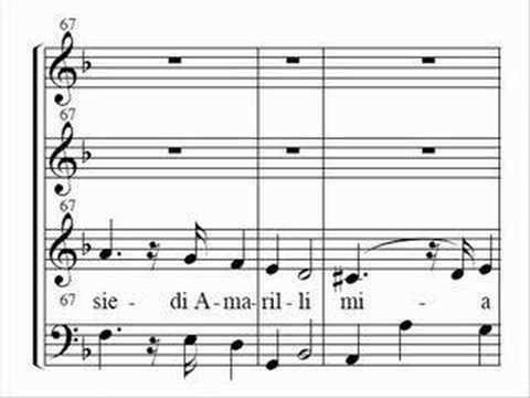 G.B. Bononcini - Siedi, amarilli - G. Lesne (1 of 2)