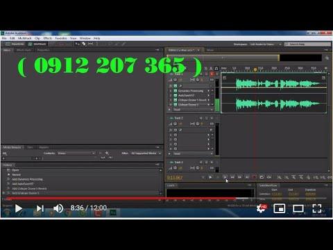 Hướng dẫn chỉnh sửa giọng hát, tạo độ vang, độ rung cho giọng hát  Adobe Audition
