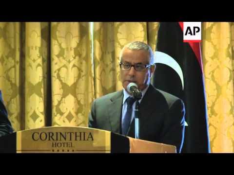 Algerian Prime Minister meets Libyan Prime Minister Ali Zidan