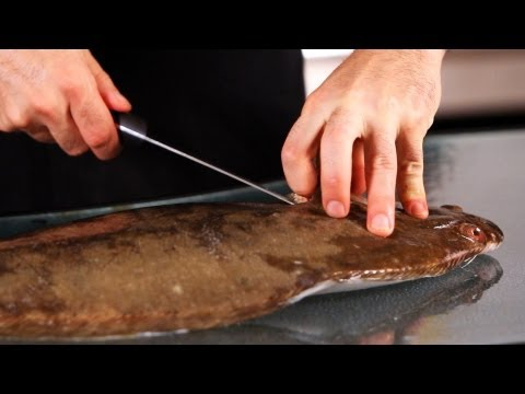 How To Pull The Guts Out Of Flounder | Fish Filleting