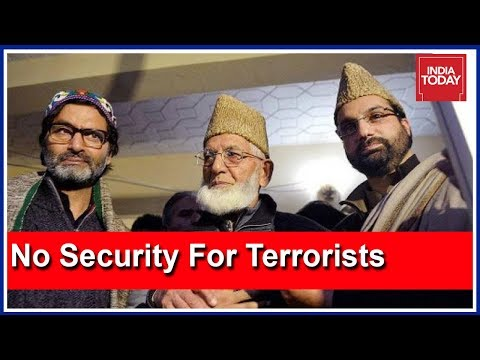 Centre Withdraws Security For 18 More Separatist Hurriyat Leaders