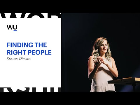 Finding The Right People // Kristene Dimarco