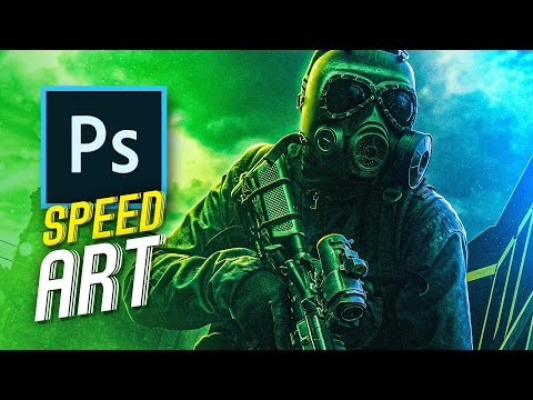 Containing The Virus | Speed Art (photoshop)